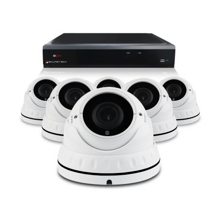 Pakket met 6 camera's
