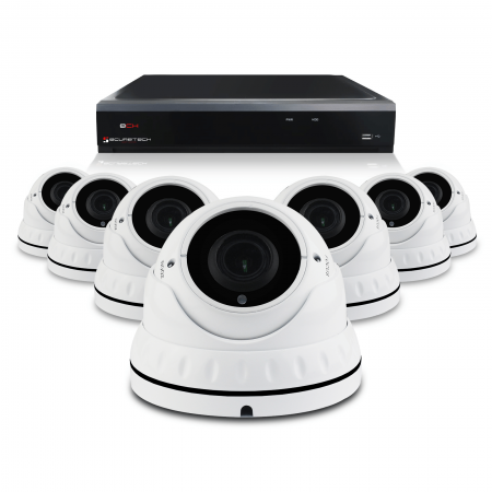 Pakket met 7 camera's