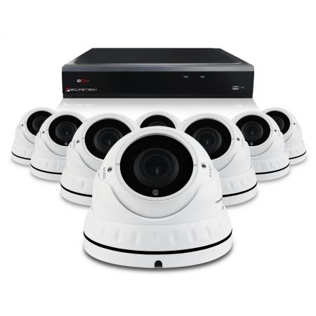 Pakket met 8 camera's